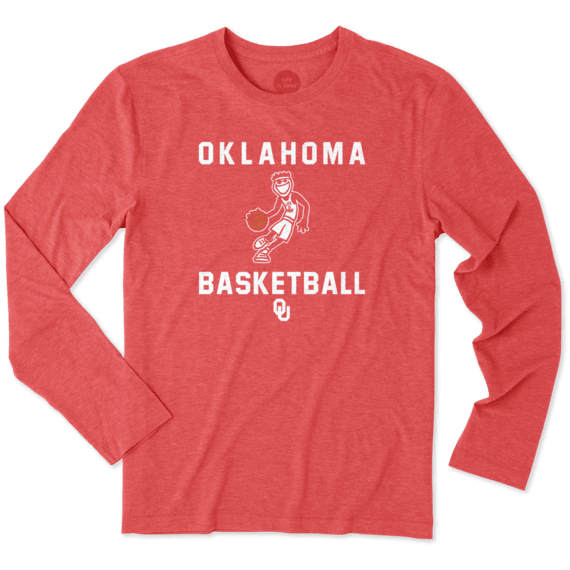 Men's Oklahoma Sooners Athlete Jake Long Sleeve Cool Tee