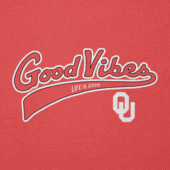 Men's Oklahoma Sooners Good Vibes Tailwhip Cool Tee