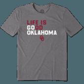 Men's Oklahoma Sooners LIG Go Team Cool Tee