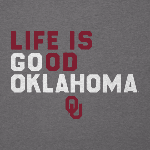 Men's Oklahoma Sooners LIG Go Team Cool Tee