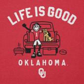 Men's Oklahoma Sooners Tailgate Jake Cool Tee