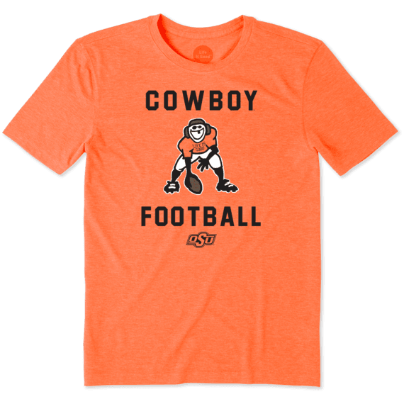 Men's Oklahoma State Cowboys Football Jake Cool Tee