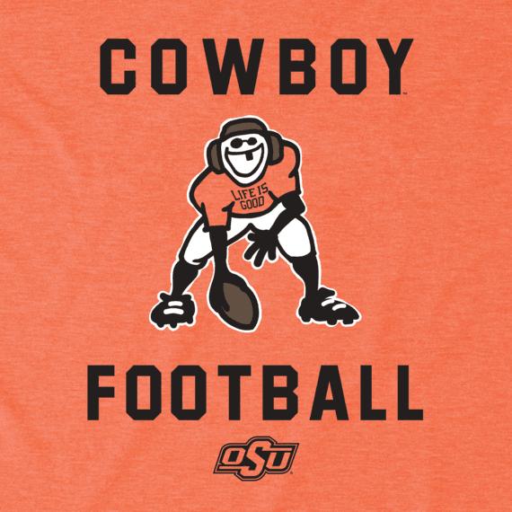 Men's Oklahoma State Cowboys Football Jake Cool Tee