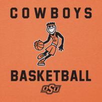 Men's Oklahoma State Cowboys Athlete Jake Long Sleeve Cool Tee