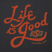 Men's Oklahoma State Cowboys Flourish Lig Cool Tee
