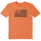 Men's Oklahoma State Cowboys Team Flag Cool Tee
