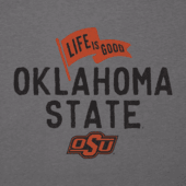 Men's Oklahoma State Cowboys Pennant Long Sleeve Cool Tee