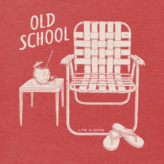Men's Old School Beach Chair Crusher Tee