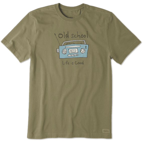 Men's Old School Radio Crusher Tee