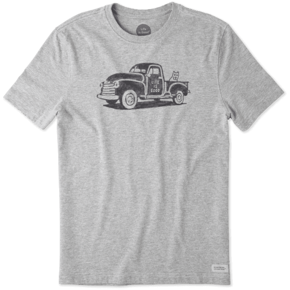 Men's Old School Truck Crusher Tee