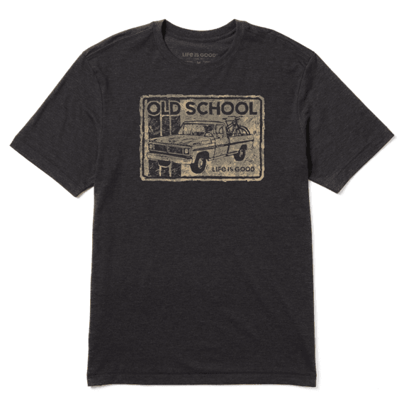 Men's Old School Truck 'n' Bikes Cool Tee