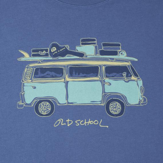 Men's Old school van Smooth Tee