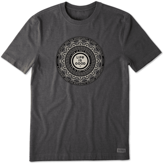 Men's Optimist Opportunity Coin Crusher Tee