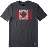 Men's Canada Our Flag Crusher Tee