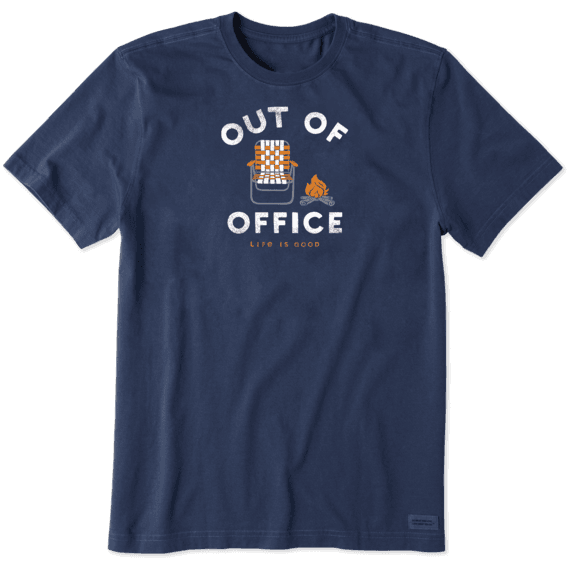 Men's Out Of Office Camp Crusher Tee