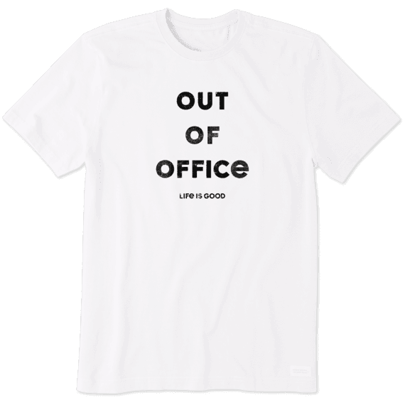 Men's Out Of Office Crusher Tee