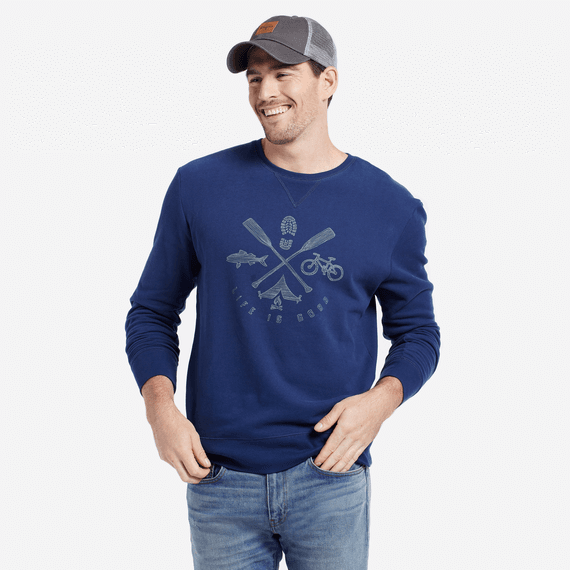 Men's Outdoor Elements Crew Sweatshirt