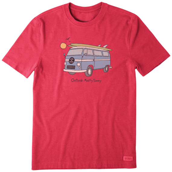 Men's Outlook: Mostly Sunny Crusher Tee