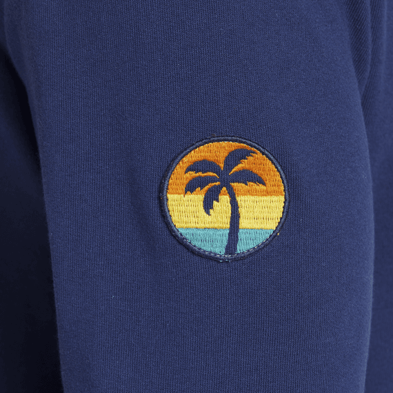 Men's Palm Patch Simply True Crew