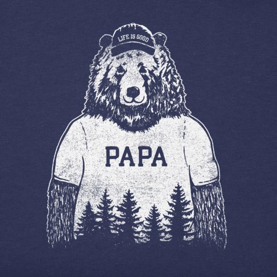 Men's Papa Bear Crusher Tee