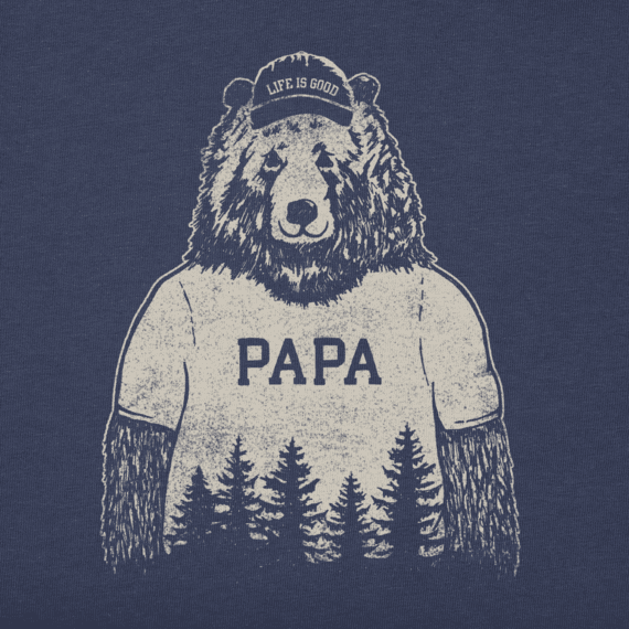 Men's Papa Bear Crusher Tee