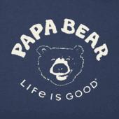 Men's Papa Bear Long Sleeve Crusher Tee