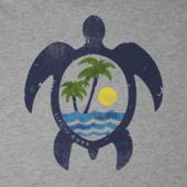 Men's Paradise Turtle Crusher Tee