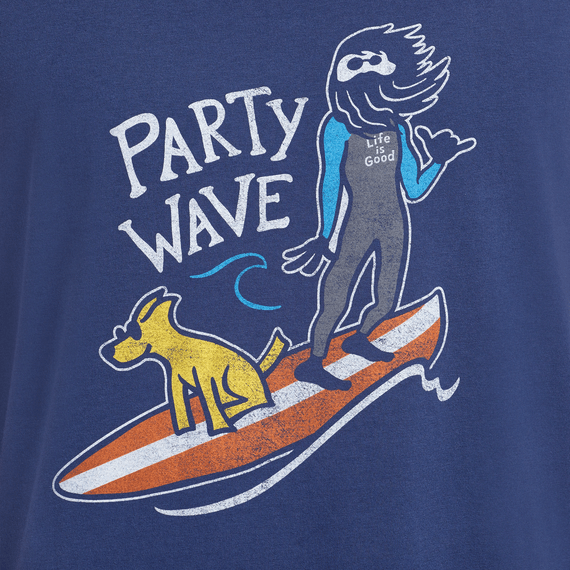 Men's Party Wave Surf Smooth Surfer Tank