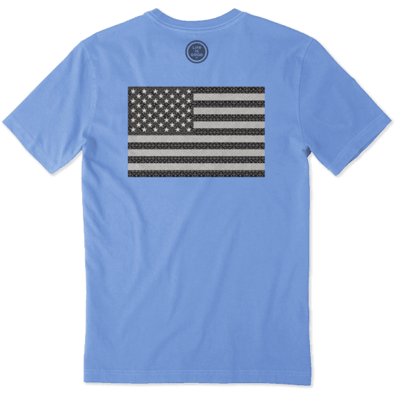 Men's Pattern Flag Crusher Tee