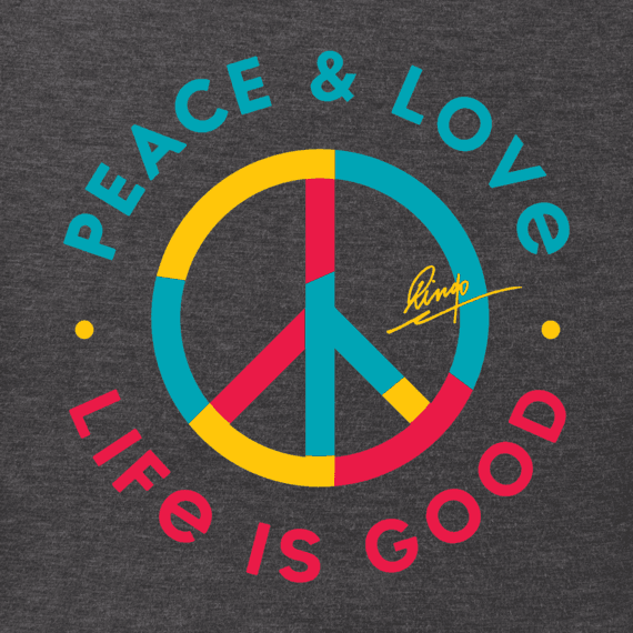 Men's Peace & Love Crusher Tee