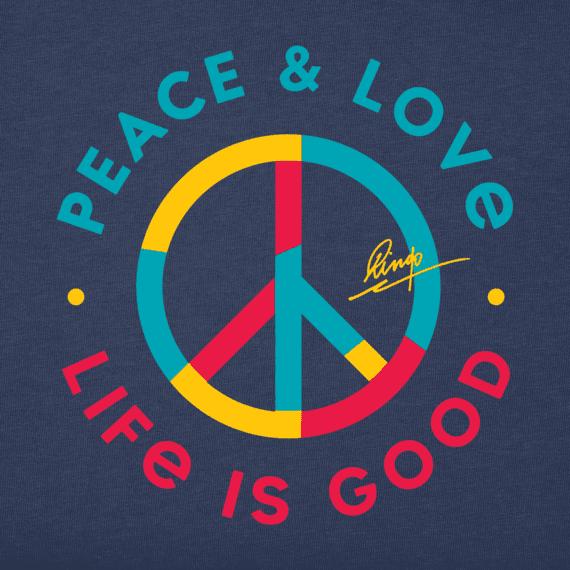 Men's Peace & Love Crusher Tee