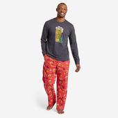 Men's Peace, Love, & Hoppiness Toss Classic Sleep Pant