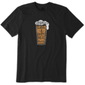 Men's Peace, Love, & Hoppiness Beer Crusher Tee