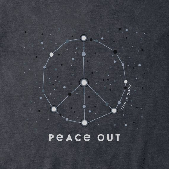 Men's Peace Out Universe Crusher Tee