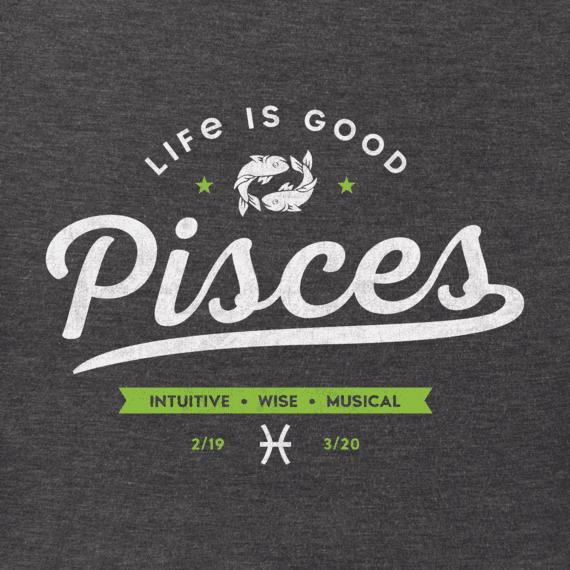 Men's Pisces Crusher Tee