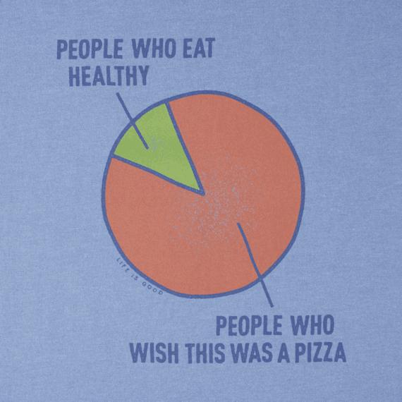 Men's Pizza Wish Crusher Tee