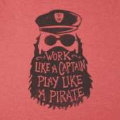 Men's Play Like A Pirate Cool Tee
