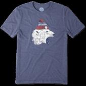 Men's Polar Bear Cap Cool Tee