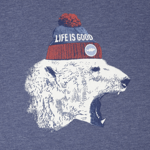 Men's Polar Bear Cap Cool Tee