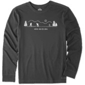 Men's Pond Hockey Long Sleeve Crusher Tee
