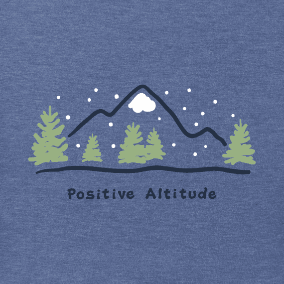 Men's Positive Altitude Long Sleeve Vintage Crusher Tee