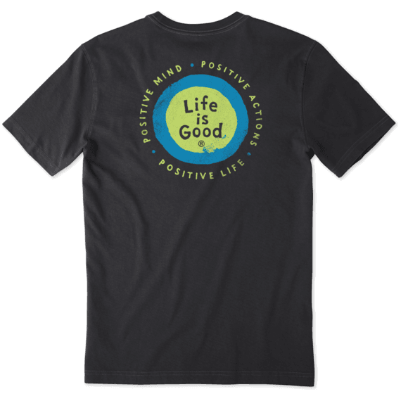 Men's Positive Energy Vibes Crusher Tee