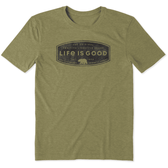 Men's Positive Lifestyle Bear Cool Tee