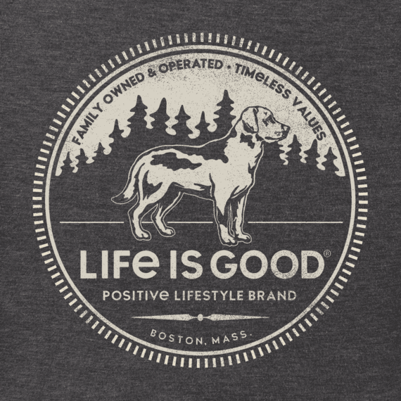 Men's Positive Lifestyle Dog Crusher Tee