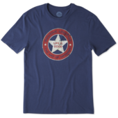 Men's Positive Lifestyle Star Smooth Tee