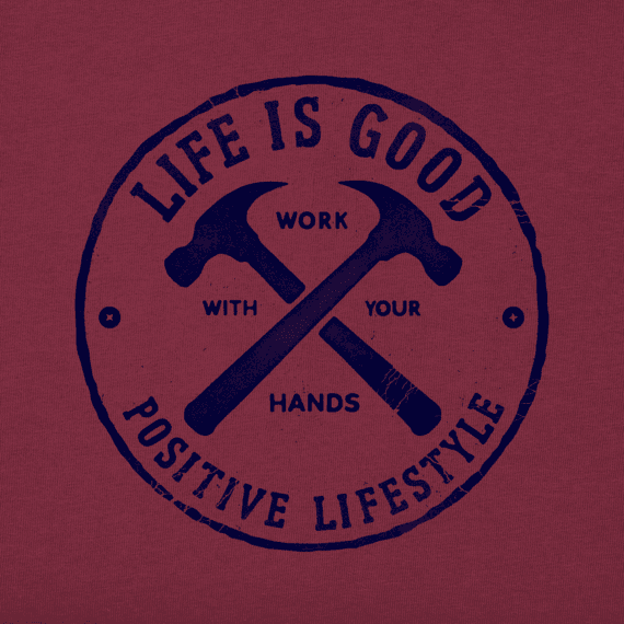Men's Positive Lifestyle Tools Cool Tee