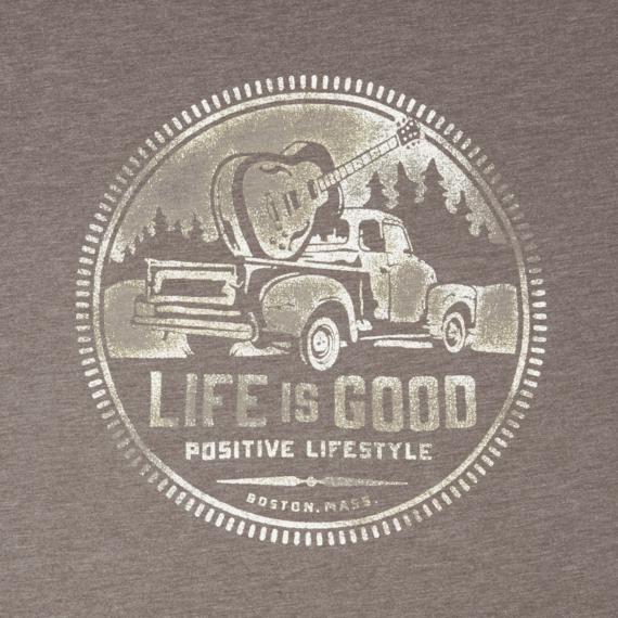 Men's Positive Lifestyle Truck Cool Tee