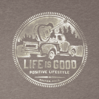 Men's Positive Lifestyle Truck Cool Tee