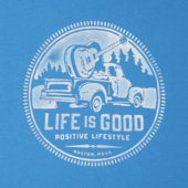 Men's Positive Lifestyle Truck Smooth Tee