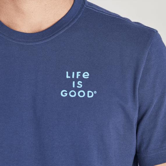 Men's Positive Words Hiker Crusher Tee